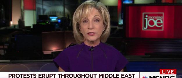 "Andrea Mitchell on ""Morning Joe"" Dec. 7, 2017 (Photo: Screenshot/MSNBC)"