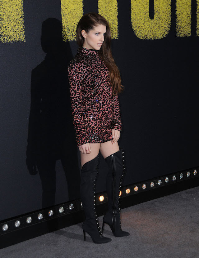 Celebrities at the 'Pitch Perfect 3' Los Angeles Premiere held at Dolby Theatre in Hollywood, California. <P> Pictured: Anna Kendrick <B>Ref: SPL1637137 111217 </B><BR /> Picture by: AdMedia / Splash News