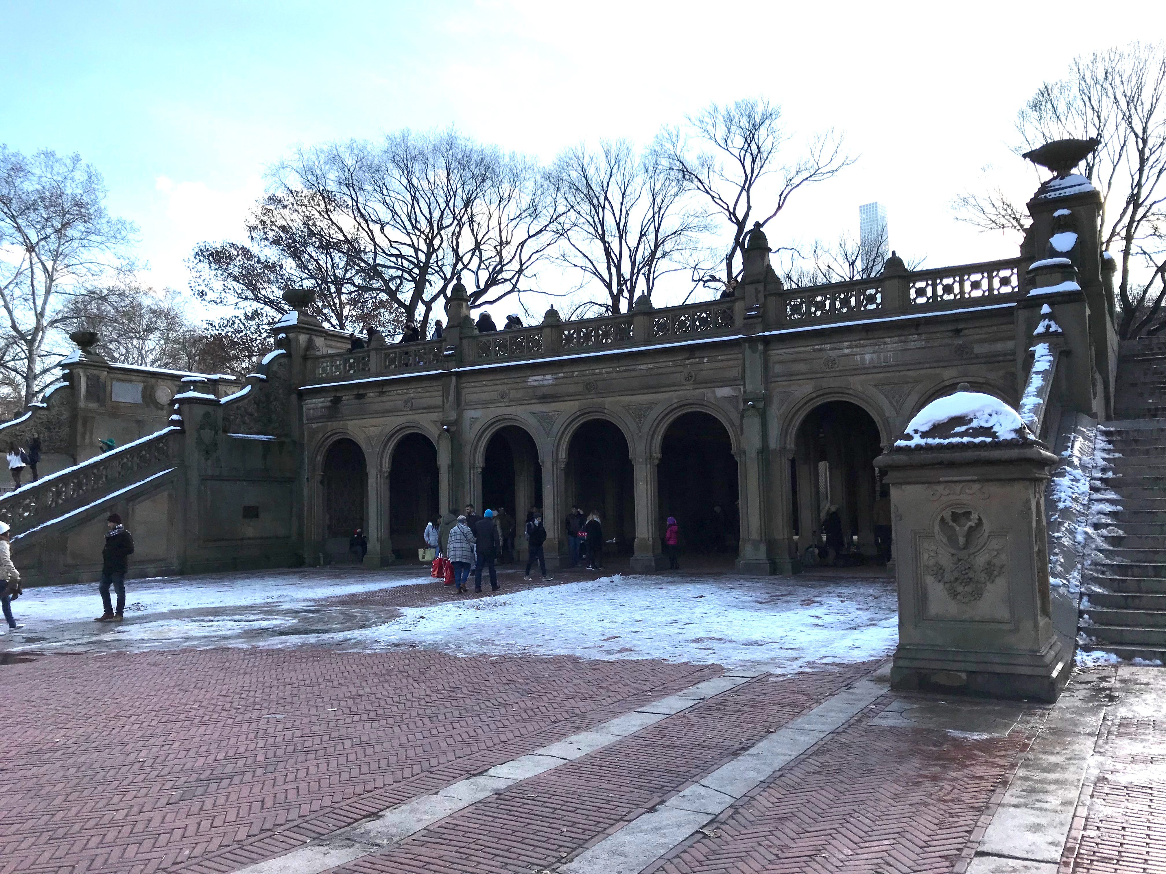 The Bethesda Terrace in Central Park in New York City. (DCNF/Ethan Barton)