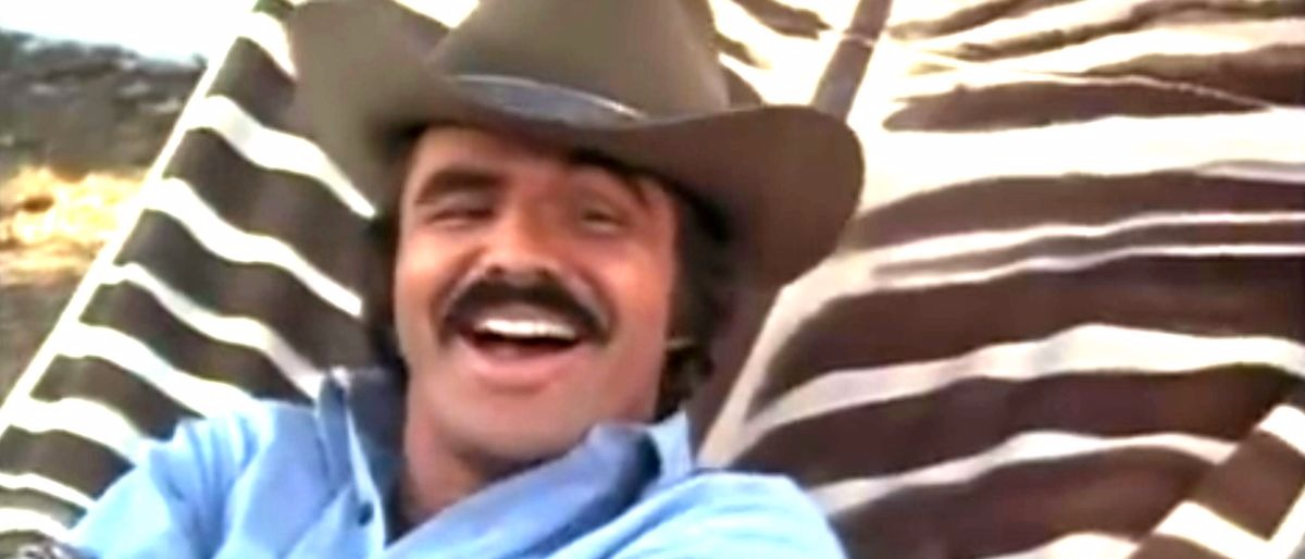 Burt Reynolds Smokey and the Bandit YouTube screenshot/Movieclips Trailer Vault