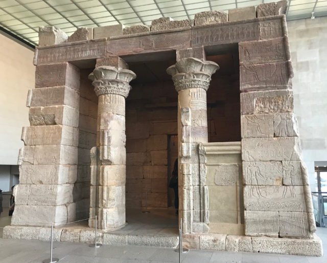 The Temple of Dendur is housed in the Sackler Wing at the Metropolitan Museum of Art in New York City. (DCNF/Ethan Barton)