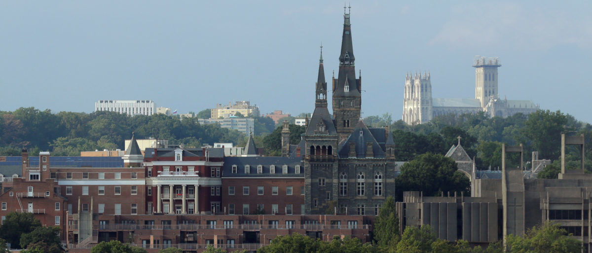 Georgetown University stands in Washington, U.S., September 1, 2016. (Photo: REUTERS/Joshua Roberts)