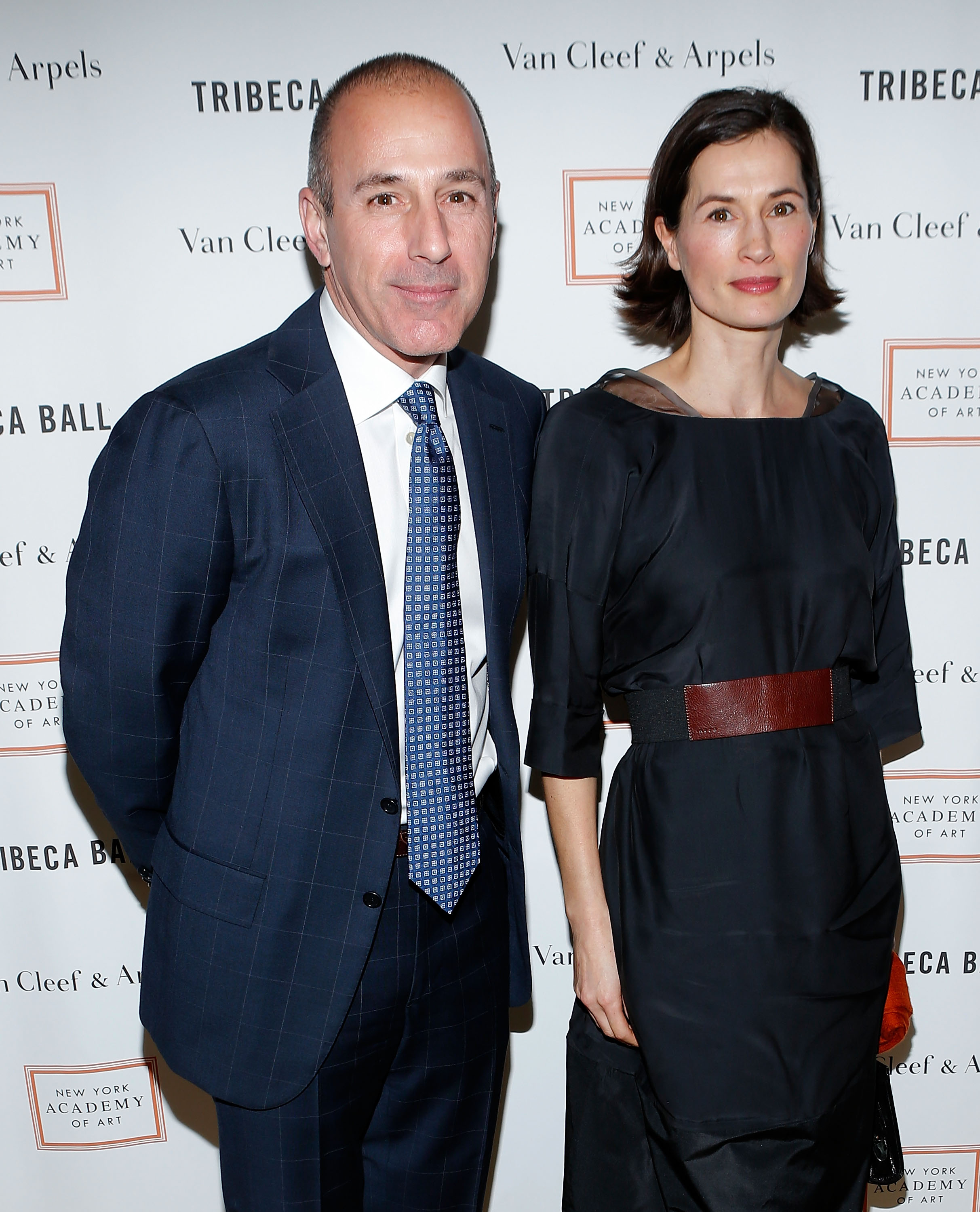 Matt Lauer's wife is lawyering up