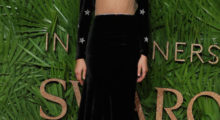 Zendaya posing on the red carpet upon arrival to attend the British Fashion Awards 2017 in London last night. (Photo credit/DANIEL LEAL-OLIVAS/AFP/Getty Images)