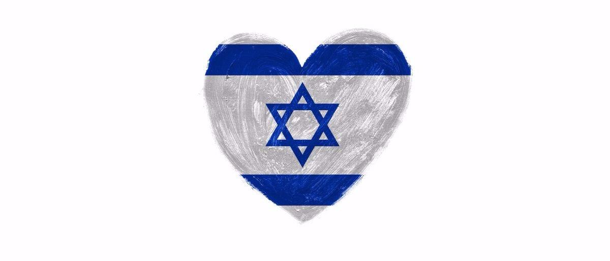 Israel heart Shutterstock/bekulnis