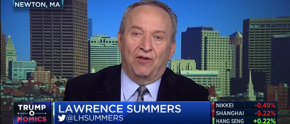 Larry Summers CNBC 12-4-17 GOP Tax Reform Will Kill Thousands