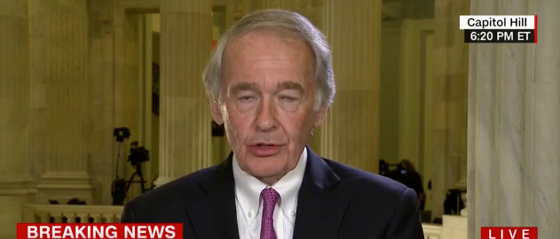 Markey CNN screenshot