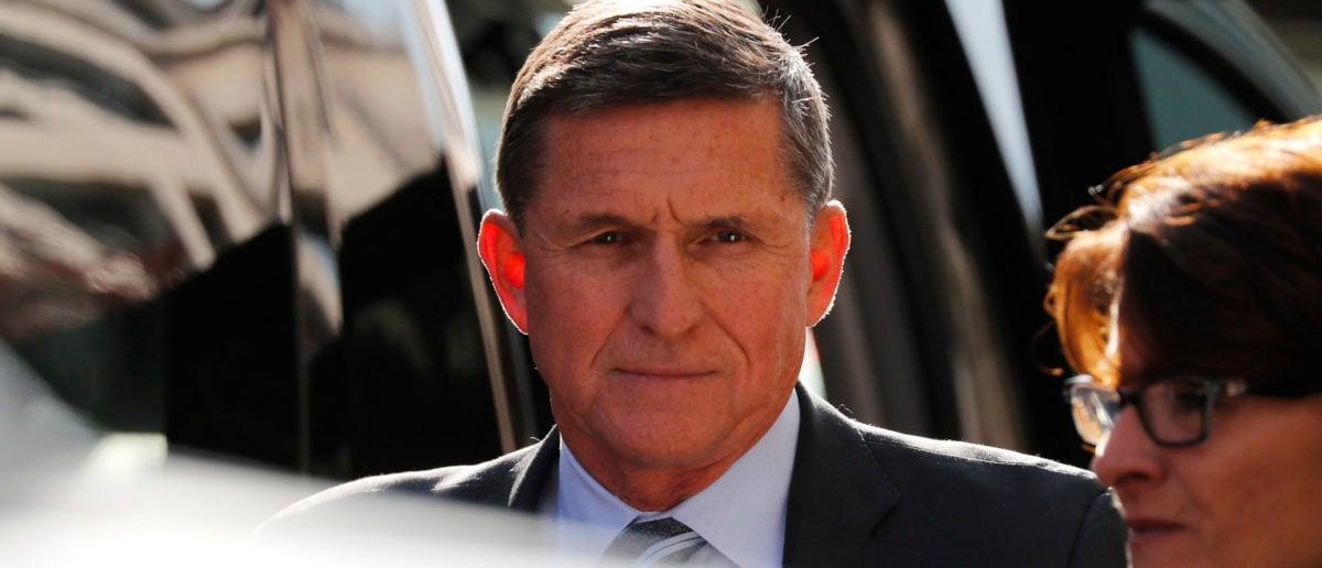 Former U.S. National Security Adviser Michael Flynn arrives for a plea hearing at U.S. District Court in Washington, December 1, 2017. REUTERS/Jonathan Ernst