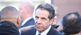 New York Gov. Andrew Cuomo attends NYPD Funeral In December 2014. (Photo: ShutterStock/A Katz)