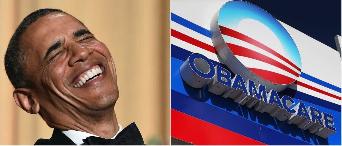 Obamacare collage Getty Images/Jewel Samad, Getty Images/Joe Raedle
