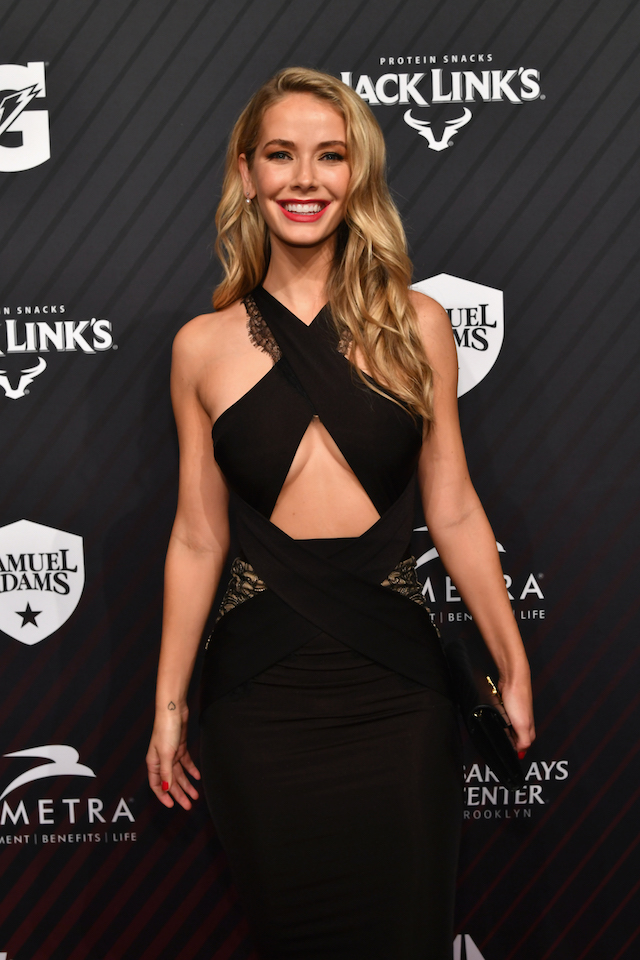 Olivia Jordan attends SPORTS ILLUSTRATED 2017 Sportsperson of the Year Show on December 5, 2017 at Barclays Center in New York City. (Photo by Slaven Vlasic/Getty Images for Sports Illustrated)