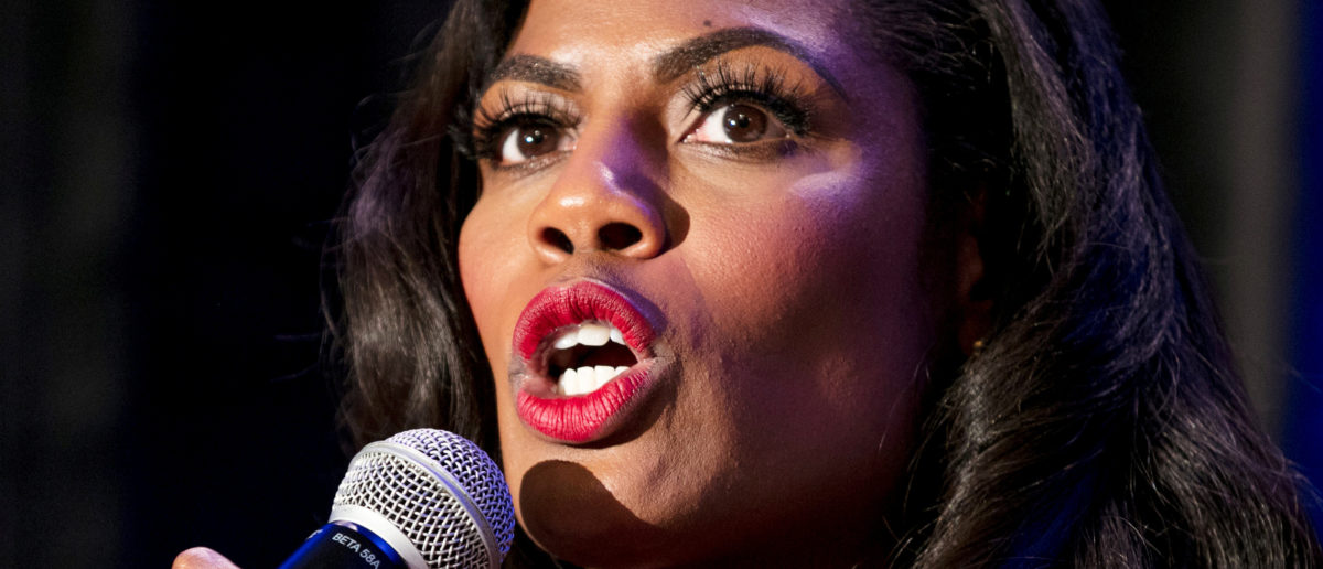 White House aide Omarosa Manigault speaks during a panel discussion at the National Association of Black Journalists convention in New Orleans, Louisiana, U.S. August 11, 2017. REUTERS/Omar Negrin