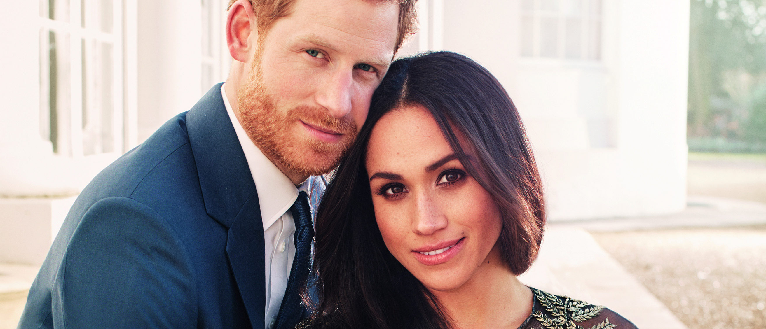prince harry and meghan markle�s official engagement