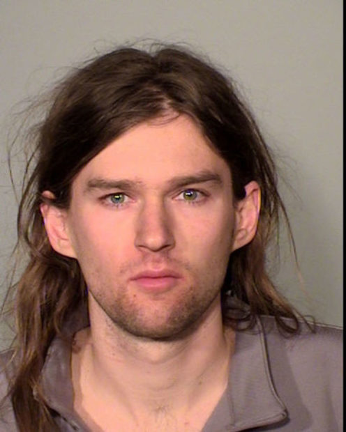 Linwood Michael Kaine, son of former U.S. Vice Presidential candidate Tim Kaine, arrested last week during an protest against President Donald Trump after a scuffle with law enforcement, according to police is shown in this image released in St. Paul, Minnesota, U.S. March 8, 2017.Courtesy Ramsey County Sheriffís Office/Handout via REUTERS ATTENTION EDITORS - THIS IMAGE WAS PROVIDED BY A THIRD PARTY. EDITORIAL USE ONLY. - RC19C6EC1070