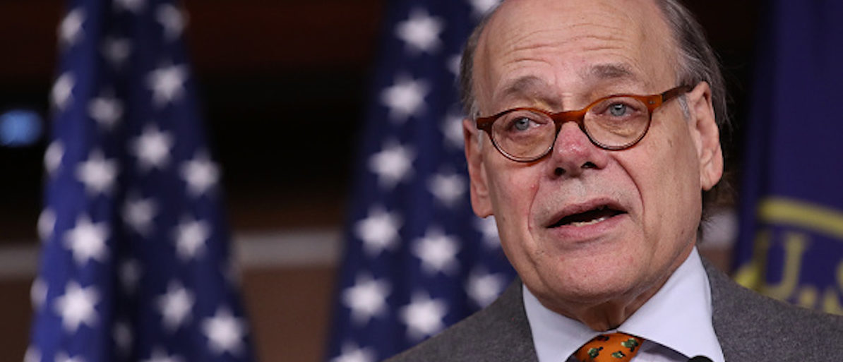 WASHINGTON, DC - NOVEMBER 15:  Rep. Steve Cohen (D-TN) introduces Articles of Impeachment against U.S. President Donald Trump during a press conference at the U.S. Capitol November 15, 2017 in Washington, DC. Cohen and three other Democratic members of Congress introduced the documents, though the House Judiciary Committee is unlikely to support the effort.  (Photo by Win McNamee/Getty Images)