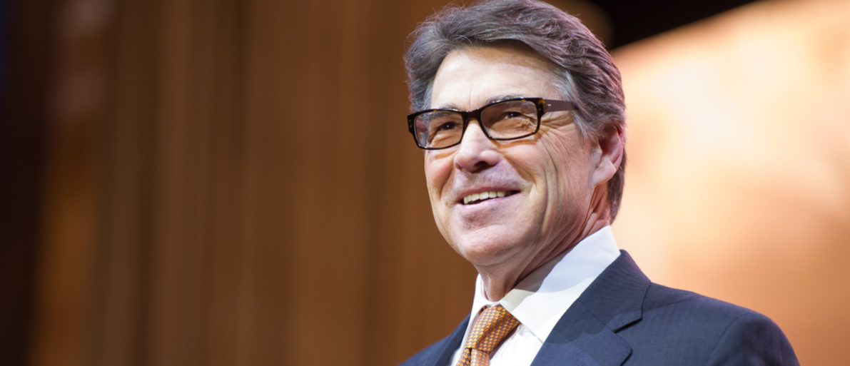 NATIONAL HARBOR, MD - MARCH 7, 2014: Texas Governor Rick Perry speaks at the Conservative Political Action Conference (CPAC).  (Photo: Shutterstock/ Christopher Halloran)