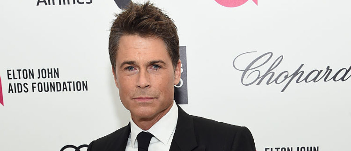 LOS ANGELES, CA - FEBRUARY 22: Actor Rob Lowe attends the 23rd Annual Elton John AIDS Foundation Academy Awards Viewing Party on February 22, 2015 in Los Angeles, California. (Photo by Jamie McCarthy/Getty Images for EJAF)