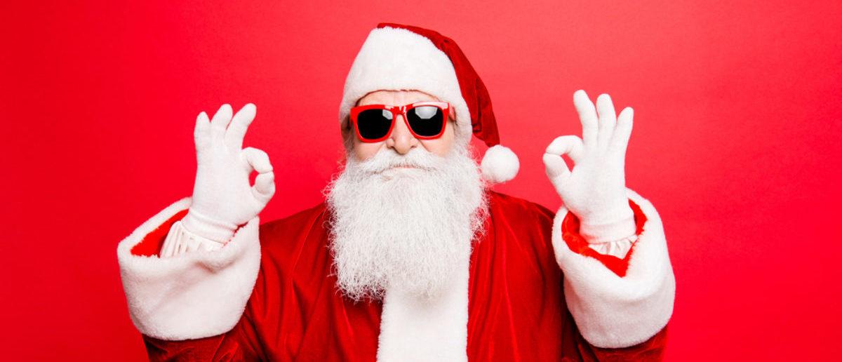 Santa (Credit: Shutterstock)