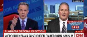 Roy Moore's Spox Sets The South Back 100 Years In Interview With CNN's Jake Tapper [VIDEO]
