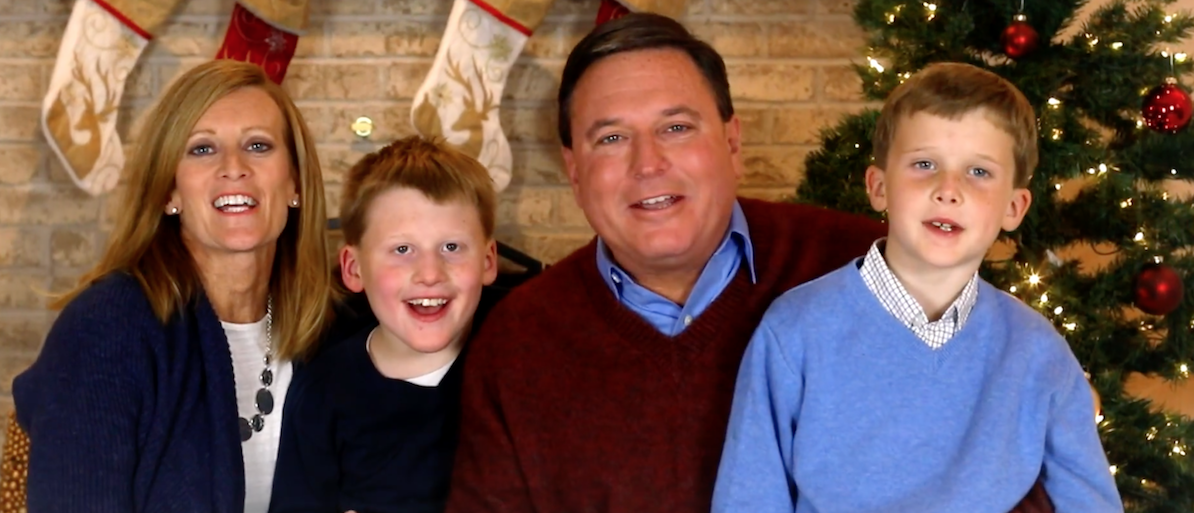 "Indiana Representative and current U.S. Senate candidate Todd Rokita is releasing a campaign ad that pokes fun at people who refuse to say ""Merry Christmas.""(Photo: Screen Shot/Youtube/Tom Rokita/Senate Campaign Ad)"