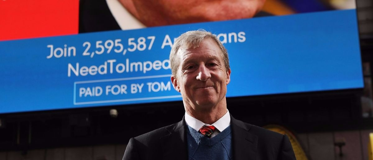 Tom Steyer Getty Images/Spencer Platt