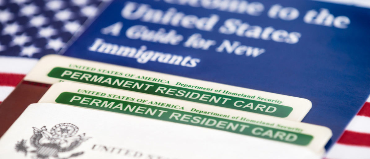 U.S. Green Card (Shutterstock/ Leena Robinson)