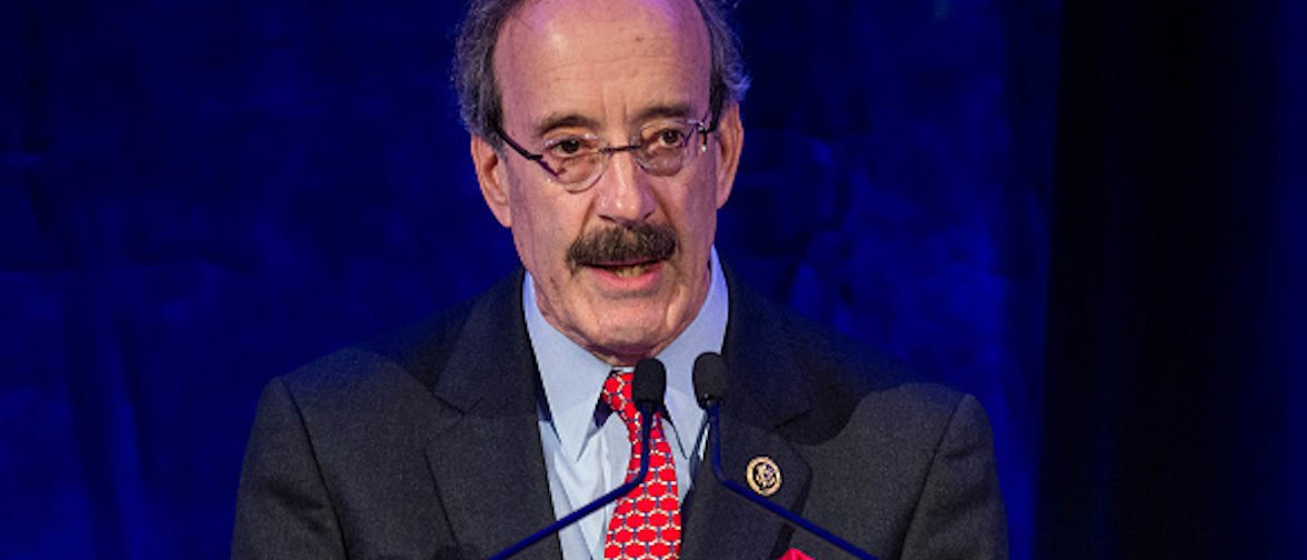 U.S. Rep. Eliot Engel (D-NY) speaks during the Leadership for the Americas Awards Gala hosted by the Inter-American Dialogue at the Four Seasons Hotel November 16, 2016 in Washington, D.C. The event honored Colombian President Juan Manuel Santos, who won the 2016 Leadership for the Americas Award. / AFP / ZACH GIBSON (Photo credit should read ZACH GIBSON/AFP/Getty Images)
