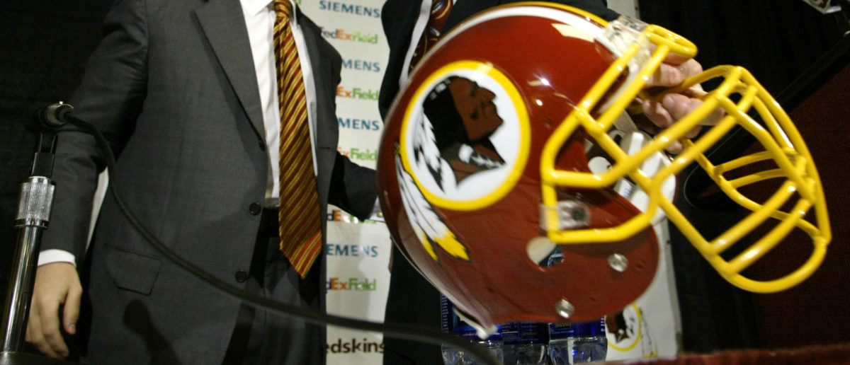 Activists have been pressuring the Washington Redskins to change their name. REUTERS/Kevin Lamarque