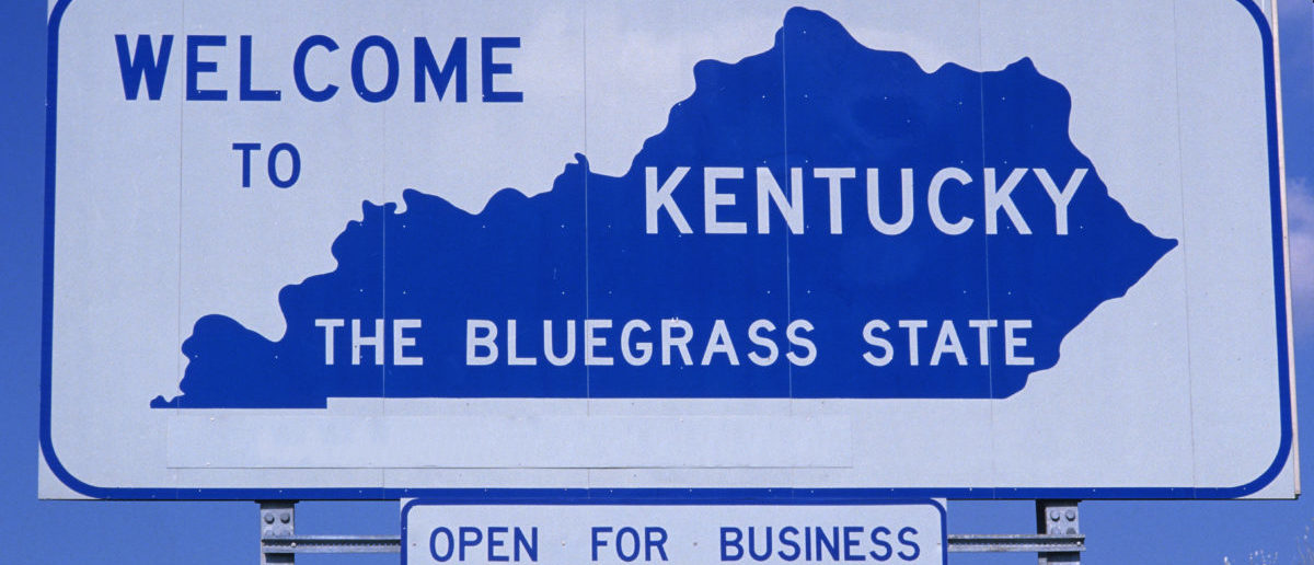 Welcome To Kentucy Sign