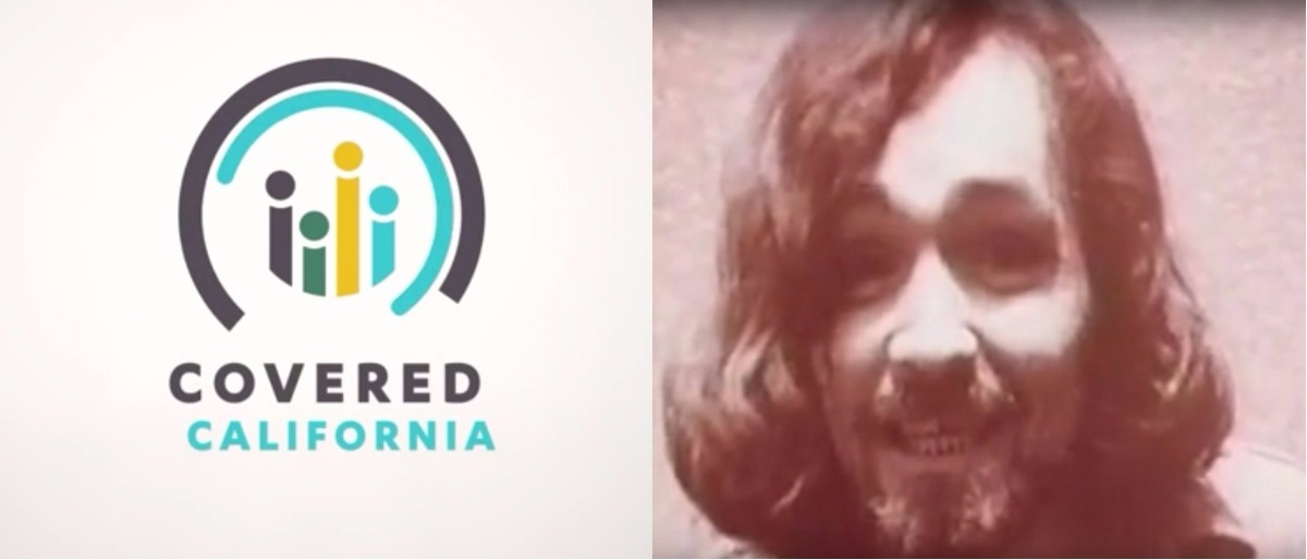 YouTube screenshot/Covered California, YouTube screenshot/E.P. James MacAdams