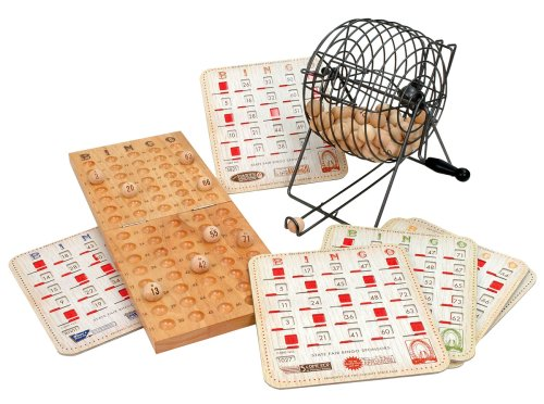Normally $60, this Bingo set is 59 percent off today (Photo via Amazon)