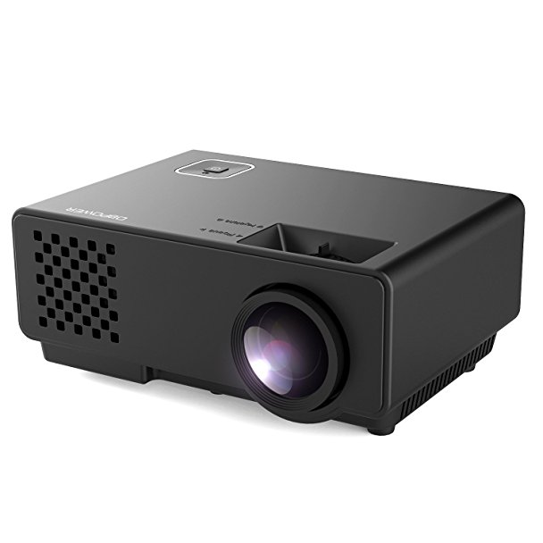 Normally $74, this portable projector is 20 percent off with this code (Photo via Amazon)
