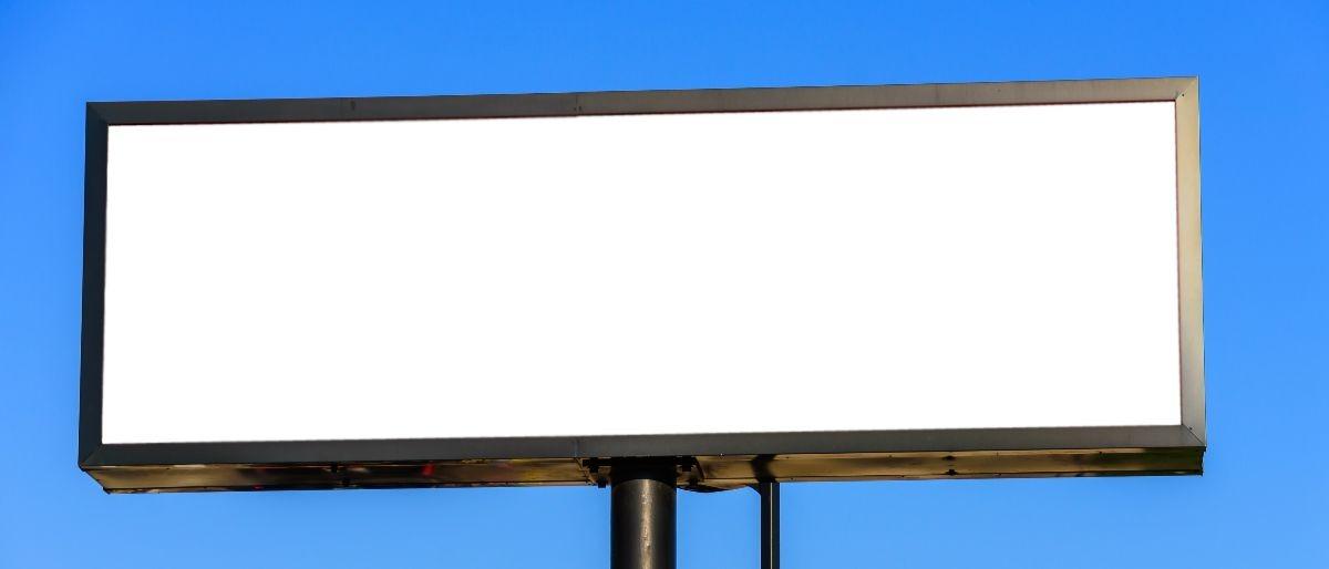 blank billboard Shutterstock/UmFOTO