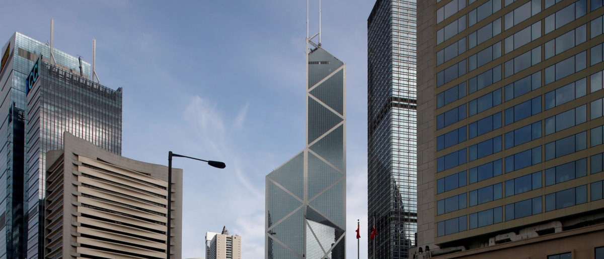 FILE PHOTO: Office buildings are seen at the financial Central district in Hong Kong, China September 6, 2017. REUTERS/Bobby Yip/File Photo