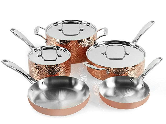 surprise someone with new pots and pans with cuisinart cookware sets are as much 73 percent off. Black Bedroom Furniture Sets. Home Design Ideas