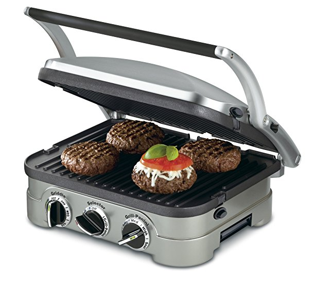 Normally $185, this 5-in-1 griddler is 76 percent off (Photo via Amazon)