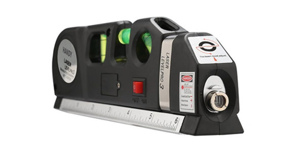 Normally $50, this laser level and measuring tape is 54 percent off