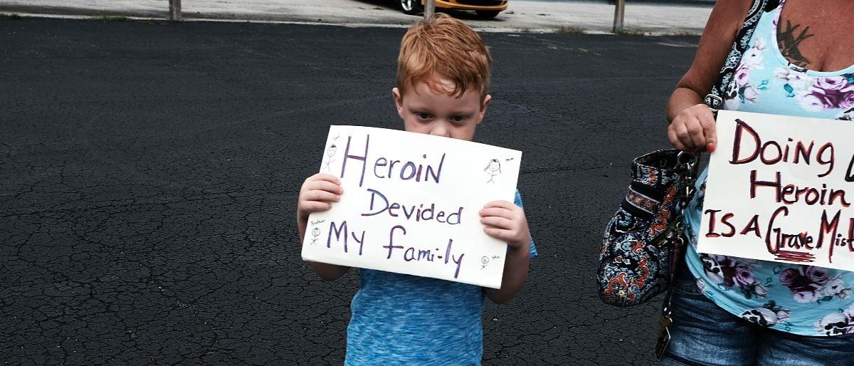 heroin Getty Images/Spencer Platt