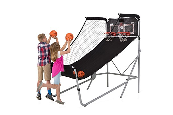 Normally $347, this arcade basketball system is 43 percent off today (Photo via Amazon)