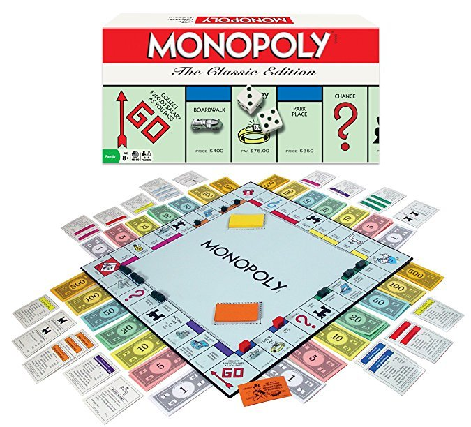 Normally $25, Monopoly is 45 percent off today (Photo via Amazon)
