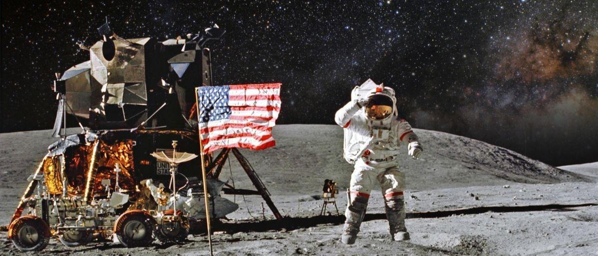 moon landing Shutterstock/Castleski