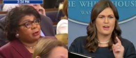 Sarah Sanders Ended The Press Briefing, Pointed At A Specific Reporter And Spit Hot Fire [VIDEO]