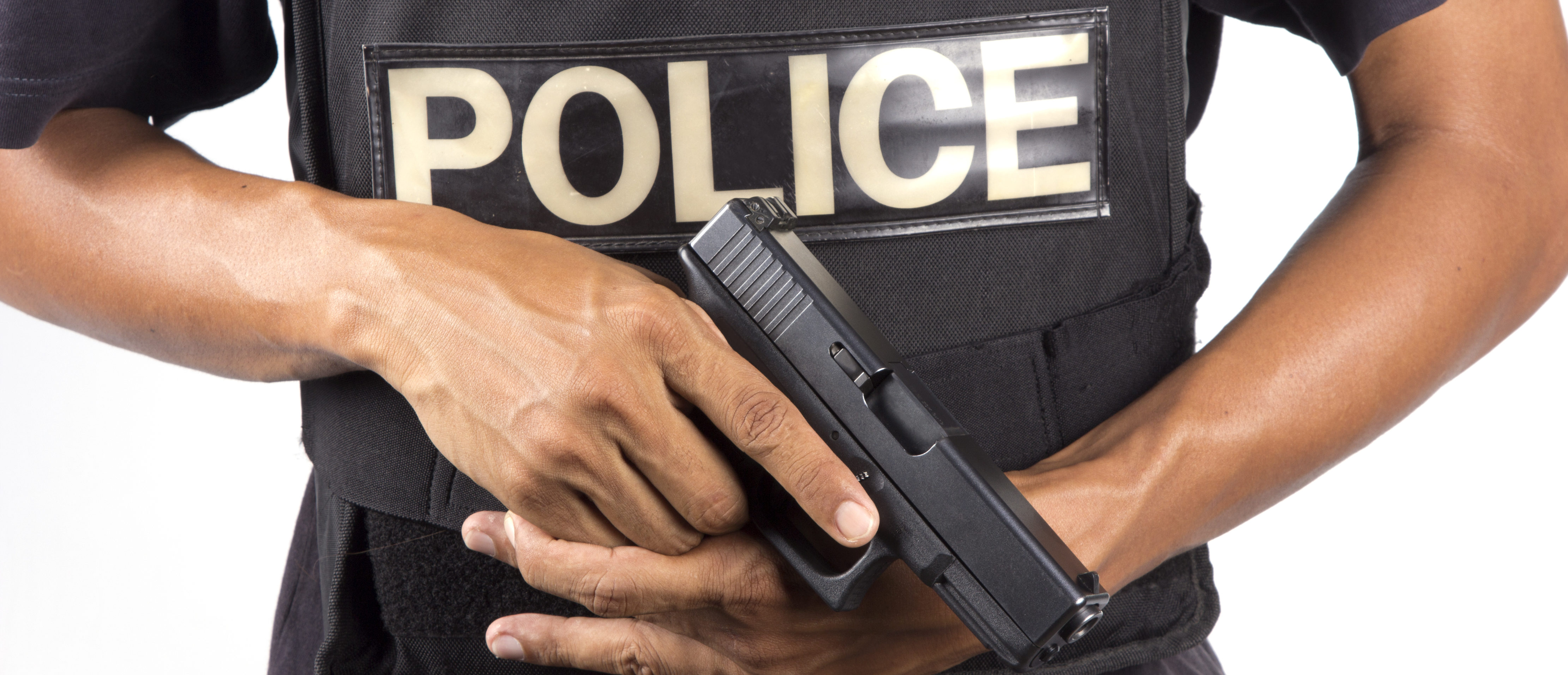 A photo of police. (shutterstock)