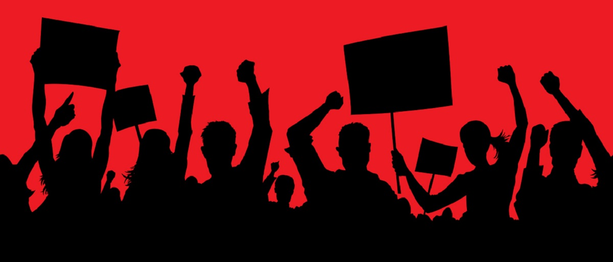 student protest Shutterstock/Danomyte