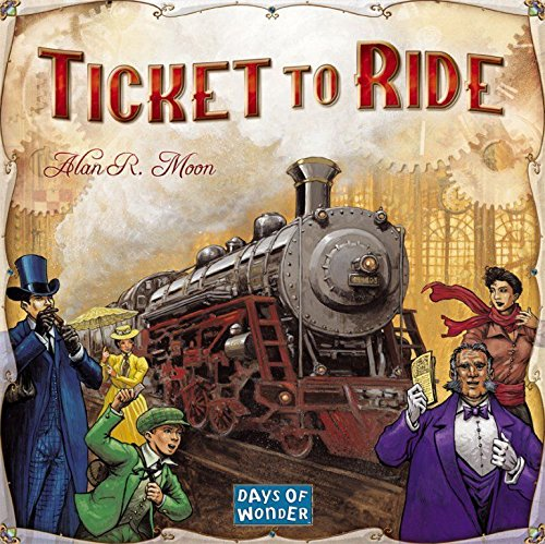 Normally $50, Ticket to Ride is 48 percent off today (Photo via Amazon)