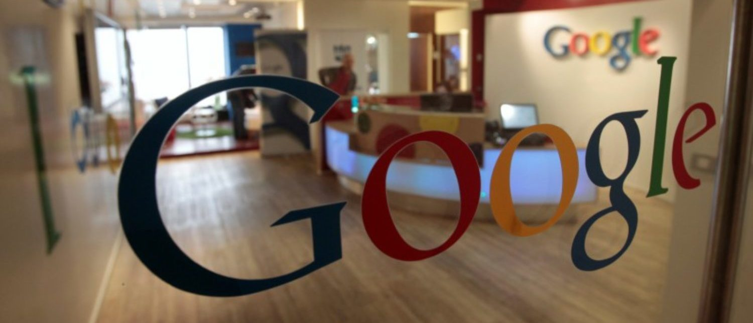 FILE PHOTO: The Google logo is seen on a door at the company's office in Tel Aviv January 26, 2011. REUTERS/Baz Ratner/File Photo