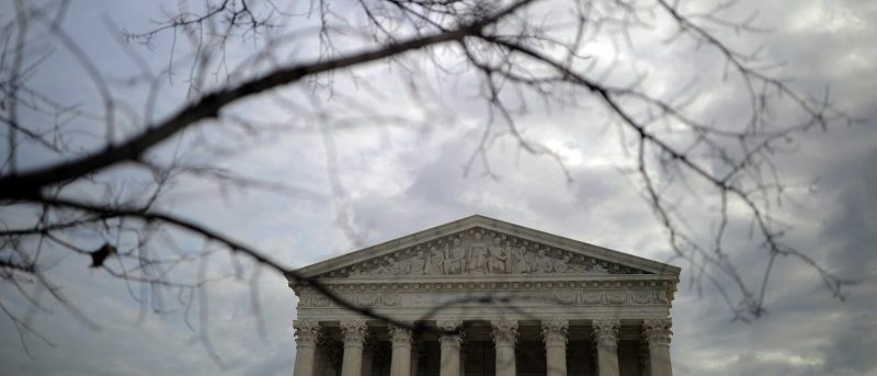 A general view of the U.S. Supreme Court building in Washington, January 22, 2018. REUTERS/Carlos Barria