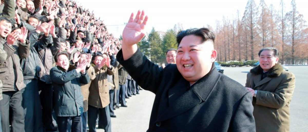 FILE PHOTO: North Korean leader Kim Jong Un visits the national science centre in this photo released by North Korea's Korean Central News Agency (KCNA) in Pyongyang on January 12, 2018. KCNA/via REUTERS