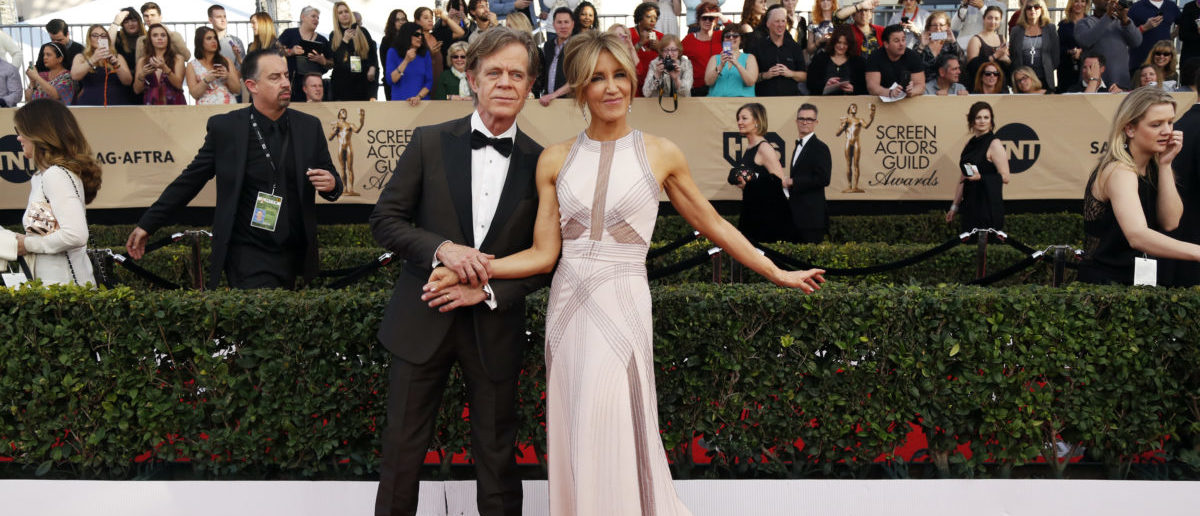 Actors William H. Macy and Felicity Huffman arrive at the 23rd Screen Actors Guild Awards in Los Angeles, California, U.S., January 29, 2017. REUTERS/Mario Anzuoni