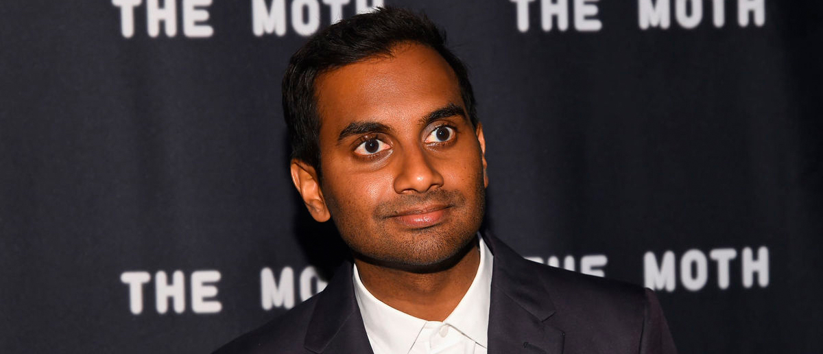 Indian American actor Aziz Ansari will receive BAFTA Los Angeles' Charlie Chaplin Britannia Award for Excellence in Comedy at the 2017 AMD British Academy Britannia Awards. (Ben Gabbe/Getty Images for The Moth)